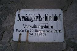 Dreifaltigkeitsfriedhof I