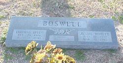 Thomas Irven Boswell
