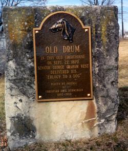 Old Drum Monument