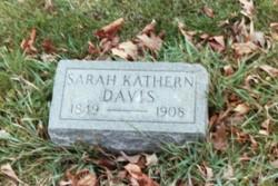 Sarah Kathern Kate <i>McCormick</i> Davis
