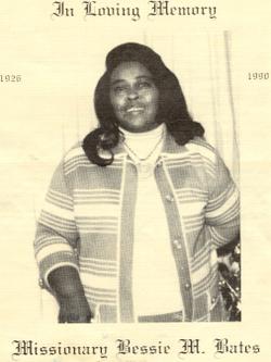 Bessie M. <i>Ross</i> Bates
