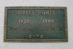 Johnny Haymer