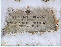 Pvt Heinrich Grava