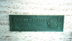 Dr Ralph Chestnut Smedley