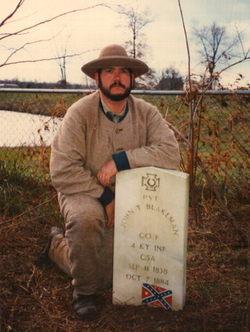 Pvt John T. Blakeman