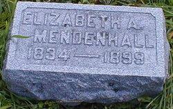 Elizabeth A Mendenhall