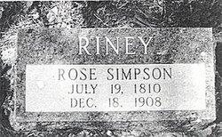 Rose A <i>Simpson</i> Riney