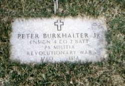 John Peter Burkhalter, Jr