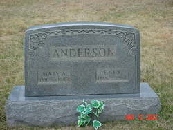 Mary A <i>Karr</i> Anderson