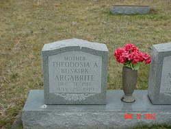 Theodosia A <i>Buskirk</i> Argabrite