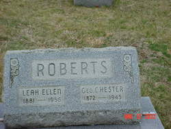 Leah Ellen <i>Wigal</i> Roberts