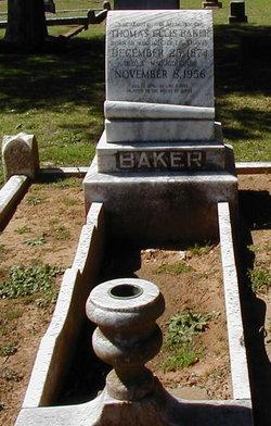 Thomas Ellis Baker