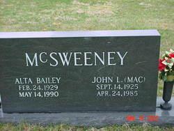 John L. (Mac) McSweeney