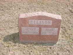 Anna Maria Carolina Annie <i>Kirchner</i> Ellison