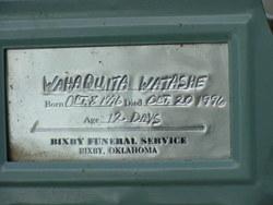 Wahaquinta Watashe