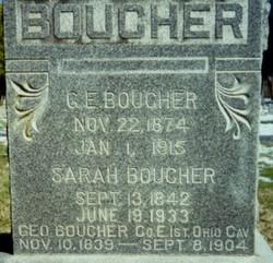 Sarah <i>May</i> Boucher
