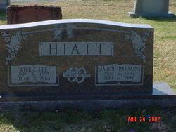 Margie <i>Parsons</i> Hiatt