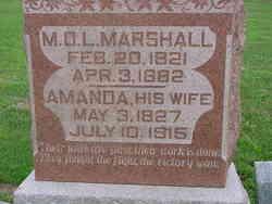 M. D. L. Marshall