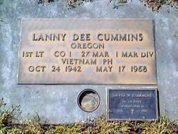 Lieut Lanny Dee Cummins