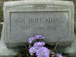 Ada Hoff <i>Hoff</i> Adams