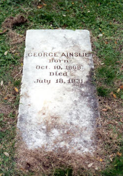 George Ainslie