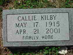 Callie Irene <i>Elliott</i> Kilby