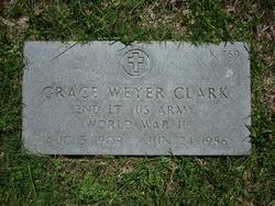 Grace <i>Weyer</i> Clark