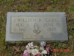 William R Cain