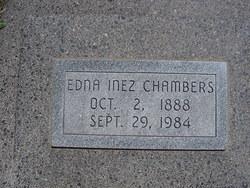 Edna Inez <i>Gamble</i> Chambers