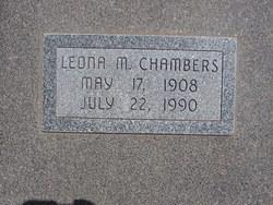 Leona M Chambers