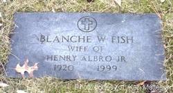 Blanche W. <i>Fish</i> Albro