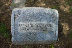 Sarah Lou Vom Eyser