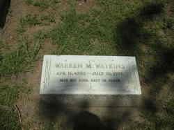 Warren M. Watkins