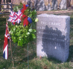 Unknown British Soldier of the American Revolutionary War