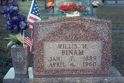 Willis Henry Binam