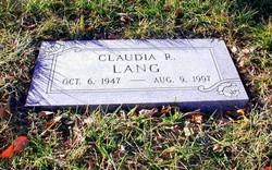 Claudia R. Lang