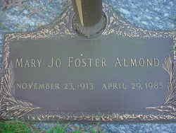 Mary Jo <i>Foster</i> Almond