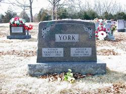 Sarah <i>Manes</i> York
