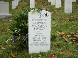Lieut Stephen Nicklous Benson