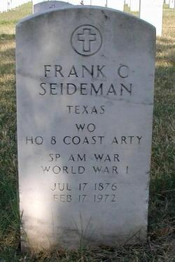 Frank C Seideman