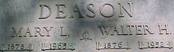 Walter Henry Deason