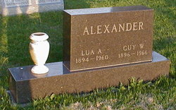 Guy W Alexander