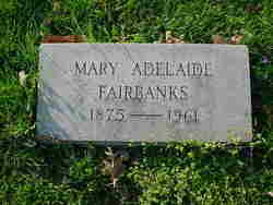 Mary Adelaide Fairbanks