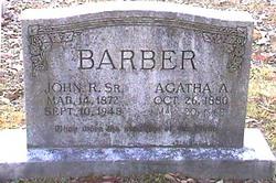 Agatha A. <i>Gaither</i> Barber