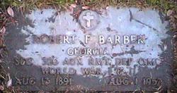 Robert Franklin Barber