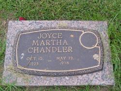 Joyce Martha <i>Jones</i> Chandler