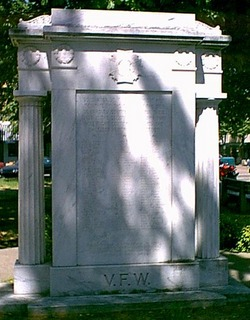 Bradley County VFW War II Memorial