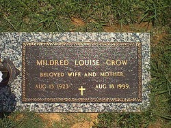 Mildred Louise <i>Couch</i> Crow