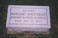 Margaret McCurdy <i>Newton</i> Ash
