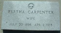 Bertha <i>Beach</i> Hambright-Carpenter